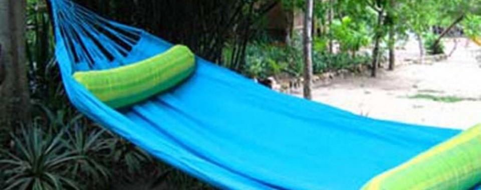 Zona de hamacas  Fuente playascondida com 2